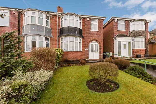 Thumbnail Semi-detached house for sale in Bristol Road South, Rednal, Birmingham
