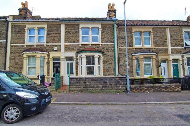 Thumbnail Terraced house to rent in Kensington Road, Staple Hill, Bristol