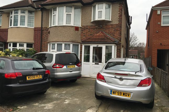 Thumbnail Semi-detached house for sale in Burns Way, Hounslow