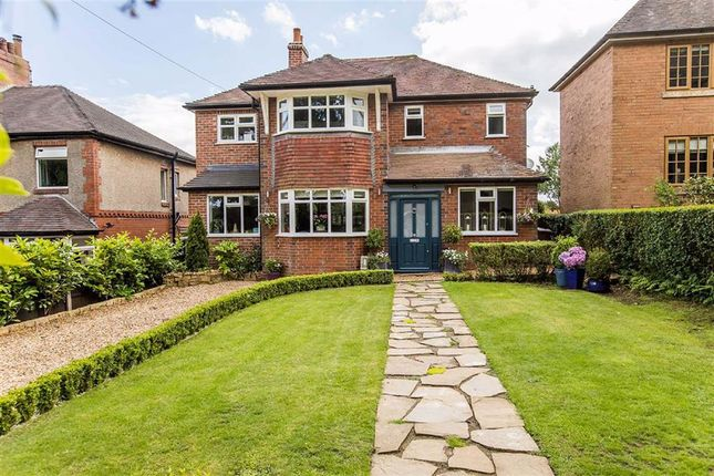 Thumbnail Detached house for sale in Ostlers Lane, Cheddleton, Leek