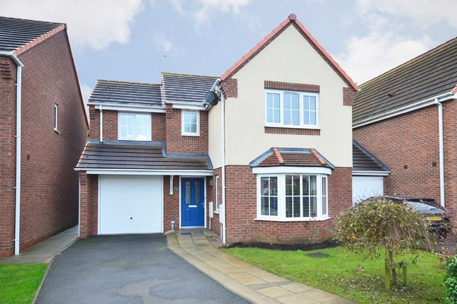 Thumbnail Detached house for sale in Warners Drive, Weston Coyney, Stoke-On-Trent