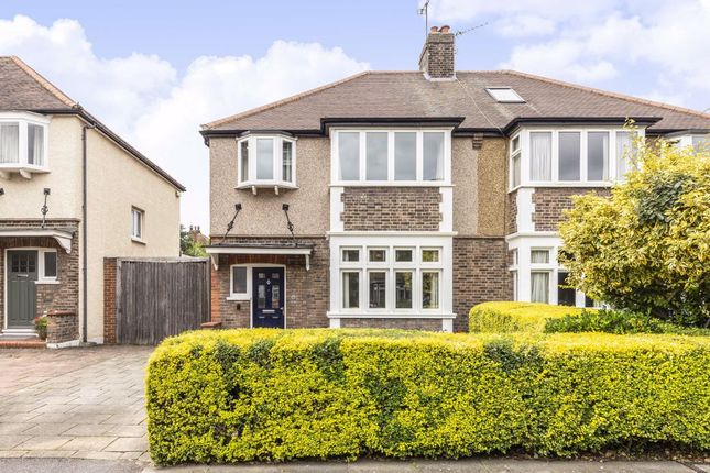 Thumbnail Semi-detached house for sale in Mostyn Road, London