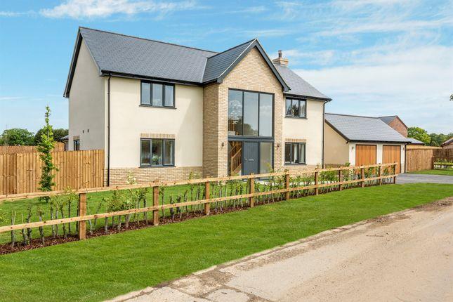 Thumbnail Detached house for sale in Park Lane, Hockering, Dereham