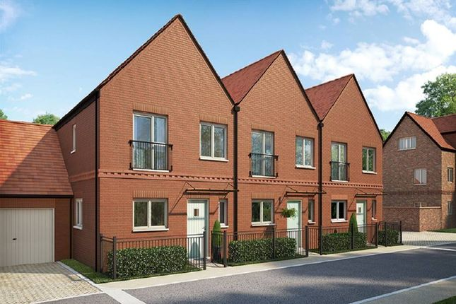 """Thumbnail Terraced house for sale in """"The Chenyne"""" at Andover Road North, Winchester"""