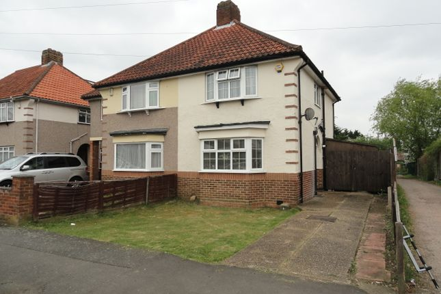 Thumbnail Semi-detached house for sale in Laughton Road, Northolt