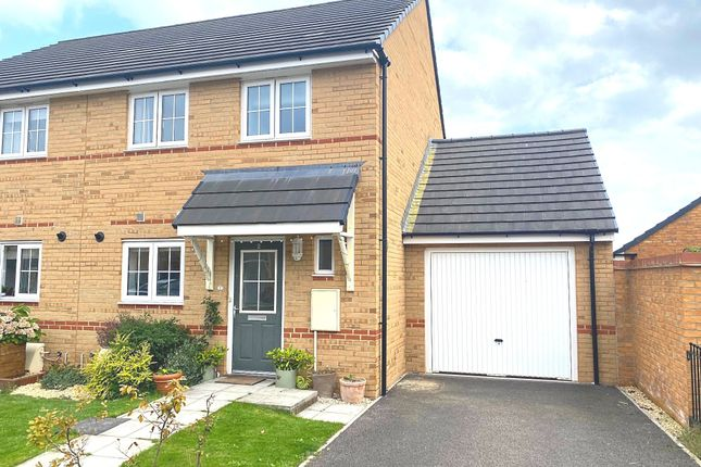 Thumbnail Semi-detached house for sale in Polden Walk, Midsomer Norton, Radstock
