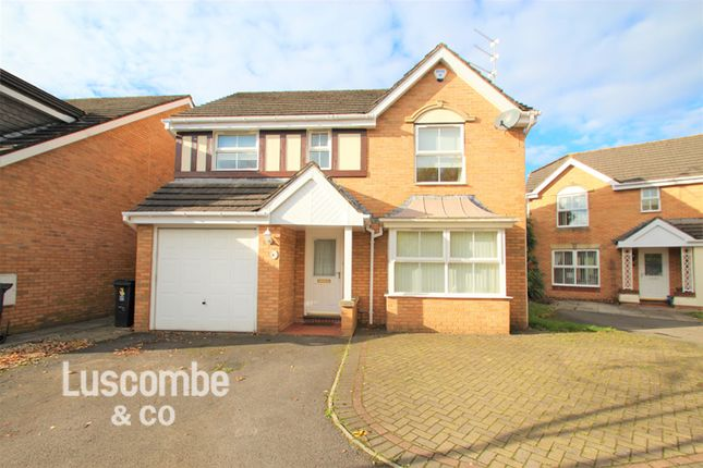 Thumbnail Detached house to rent in Oak Tree Drive, Rogerstone