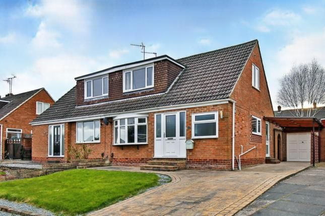 Thumbnail Bungalow for sale in Lazenby Grove, Darlington, Co Durham