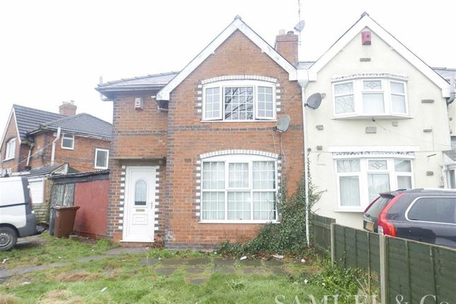 Thumbnail Semi-detached house to rent in Broadstone Avenue, Walsall
