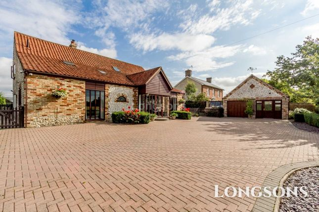 Thumbnail Barn conversion for sale in White Hart Street, Foulden
