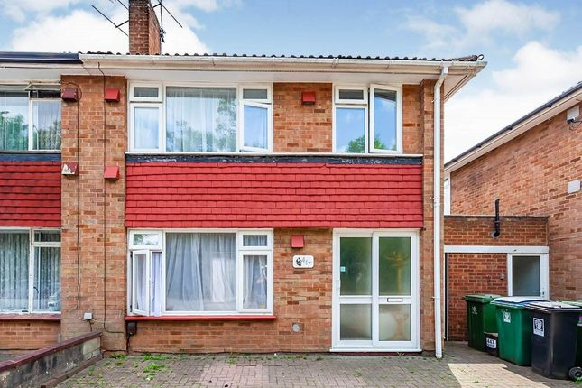 Thumbnail Semi-detached house to rent in North Western Avenue, Watford