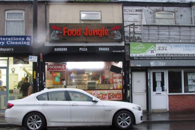 Thumbnail Restaurant/cafe for sale in Stockport Road, Levenshulme, Manchester