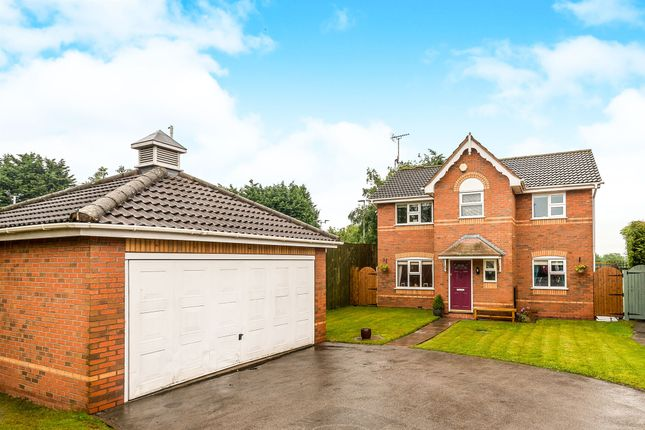 Thumbnail Detached house for sale in Wilsford Avenue, Uttoxeter