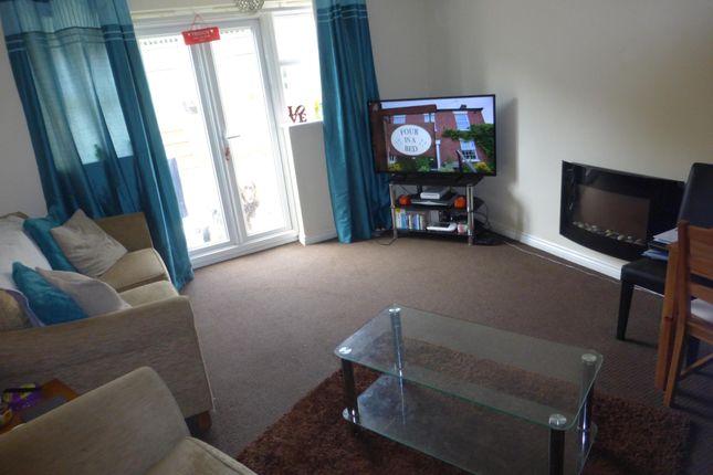 Living Room of Merlin Road, Birkenhead, Wirral CH42