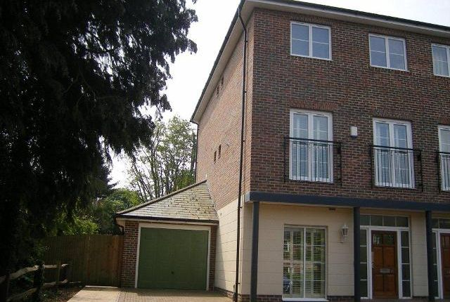 Thumbnail End terrace house to rent in Bath Place, Winchester