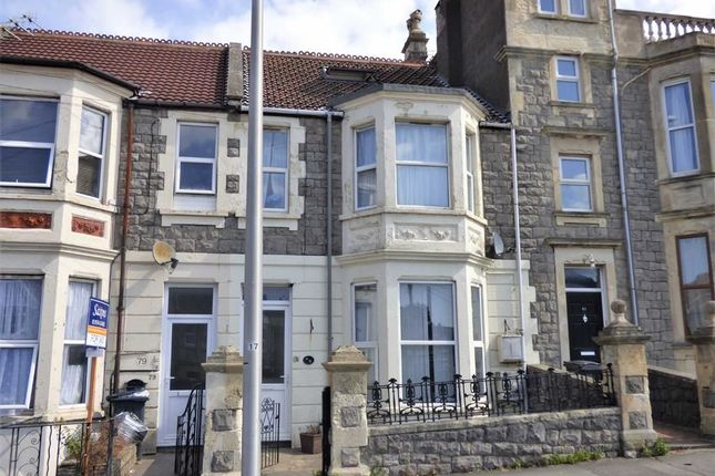 Thumbnail Maisonette for sale in Clevedon Road, Weston-Super-Mare