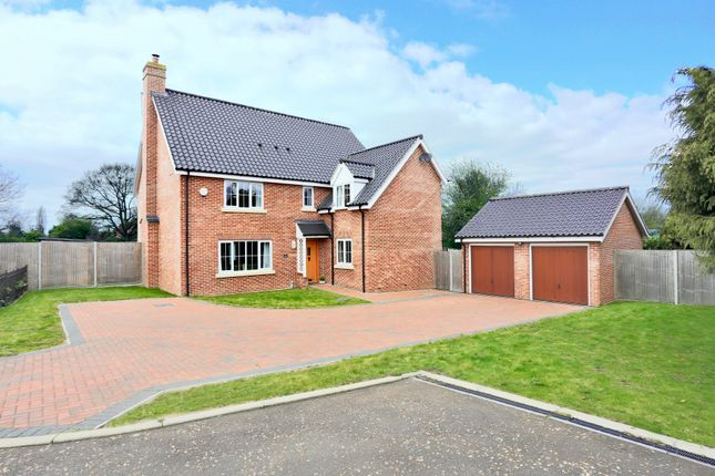 Thumbnail Detached house for sale in The Cedars, Wrentham, Beccles