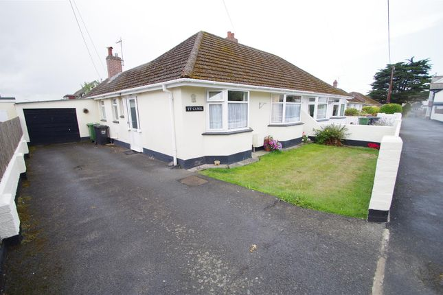 Thumbnail Semi-detached bungalow for sale in Colley Park Road, Braunton