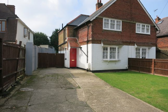 Thumbnail Semi-detached house to rent in Ditton Hill Road, Long Ditton, Surbiton
