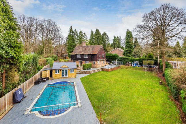 Thumbnail Detached house for sale in Lawfords Hill Road, Worplesdon, Guildford