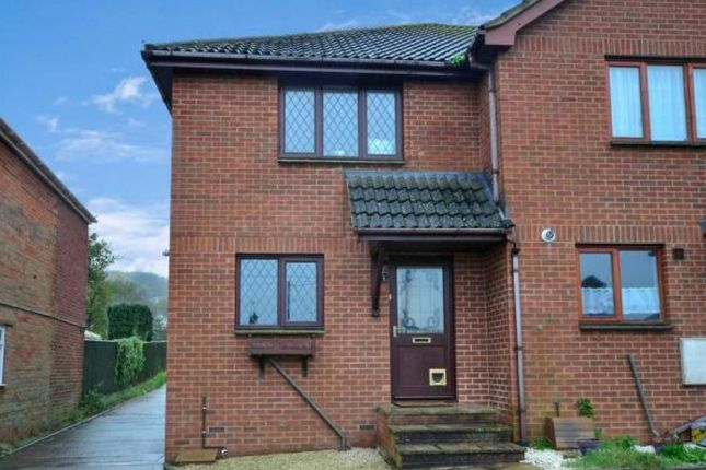 Thumbnail End terrace house to rent in Gunville Road, Newport