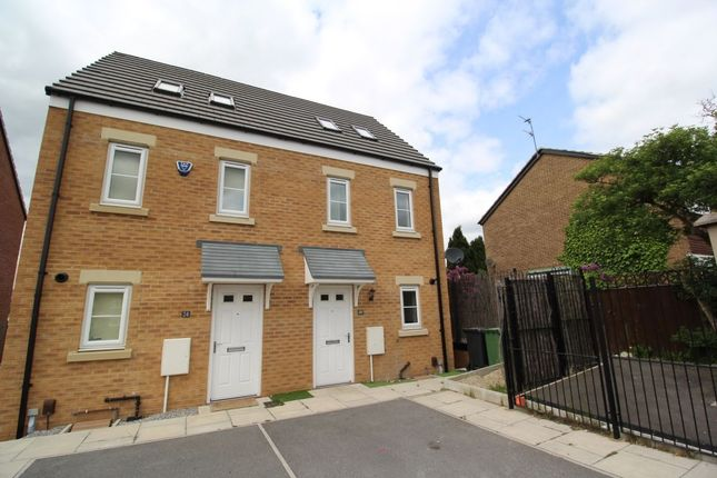 Thumbnail Terraced house to rent in Langbar Approach, Leeds