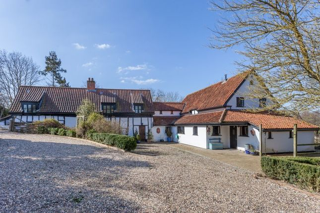 Thumbnail Detached house for sale in Wash Lane, Forncett St. Peter, Norwich