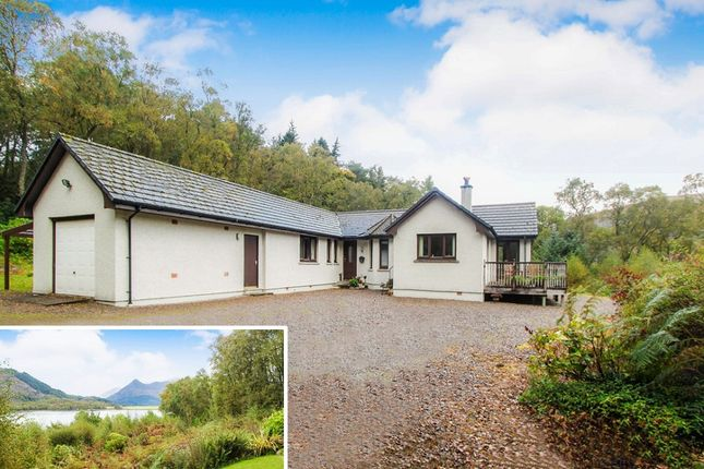 Thumbnail Detached bungalow for sale in Ballachulish