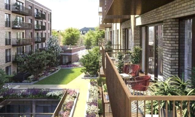 1 bed flat for sale in The Silk District, Raven Row, Whitechapel E1