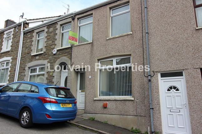 Thumbnail Terraced house to rent in Argyle Street, Abertillery, Blaenau Gwent.