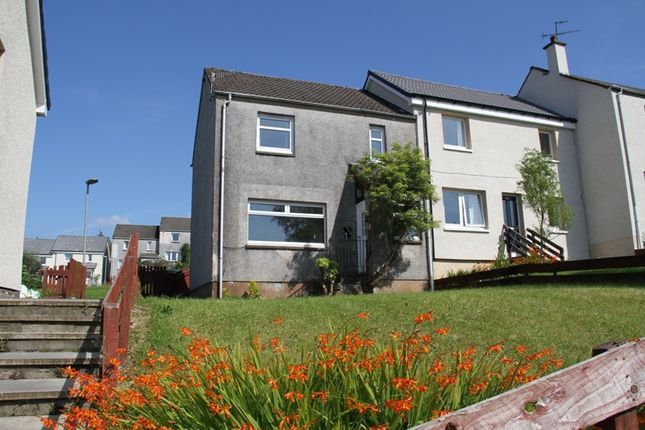 Thumbnail End terrace house for sale in Macdonald Terrace, Lochgilphead, Argyll