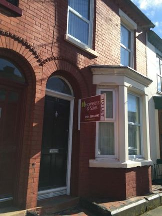 Thumbnail Terraced house to rent in Alwyn Street, Aigburth, Liverpool