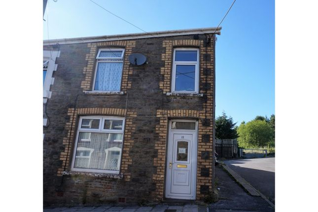 Thumbnail End terrace house for sale in Station Terrace, Merthyr Tydfil