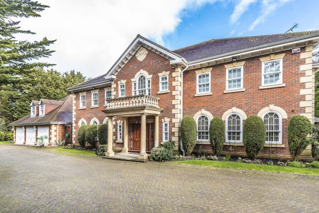 Thumbnail Detached house for sale in Warreners Lane, St. Georges Hill, Weybridge
