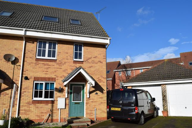 Thumbnail Town house to rent in Mallard Way, Scawby Brook, Brigg