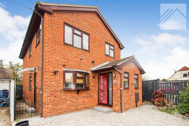 Thumbnail Detached house for sale in Byron Close, Canvey Island