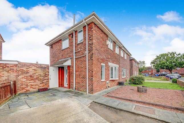 Thumbnail Semi-detached house to rent in Shelley Crescent, Blyth