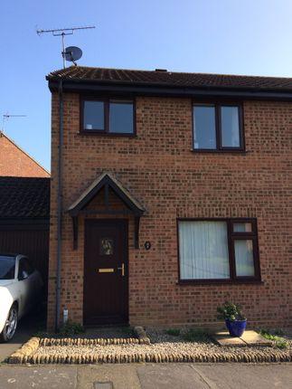 Thumbnail Semi-detached house to rent in De Vere Close, Framlingham