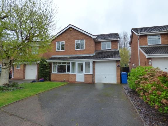 Thumbnail Detached house for sale in Troon, Tamworth, Staffordshire