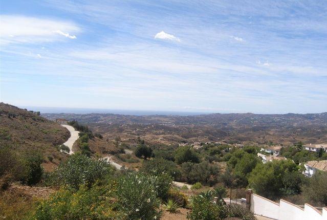 Views (2) of Spain, Málaga, Mijas