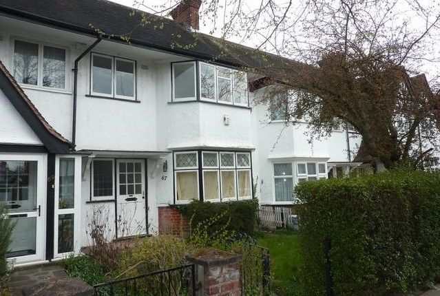 Thumbnail Terraced house to rent in Tudor Gardens, West Acton
