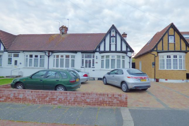 Thumbnail Semi-detached bungalow for sale in Crossway, Enfield