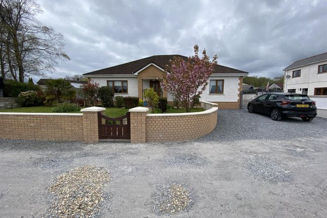 Thumbnail Detached bungalow for sale in Penygroes Road, Blaenau, Ammanford