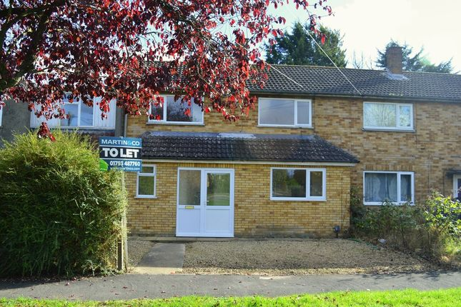 Thumbnail Terraced house to rent in Kingswood Avenue, Swindon