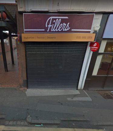 Thumbnail Restaurant/cafe to let in Birmingham Street, Oldbury