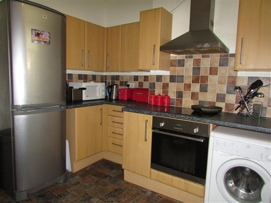 Kitchen of Park Street Flat 4, Morecambe LA4