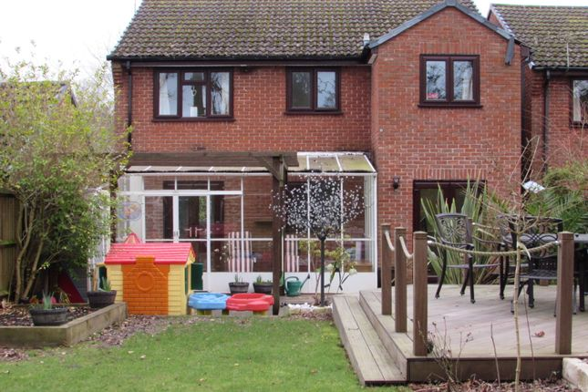 Thumbnail Detached house for sale in Caernarvon Gardens, Chandler's Ford, Eastleigh