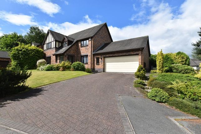 Thumbnail Detached house for sale in Lake View, Congleton