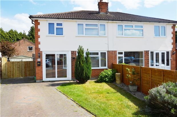 Thumbnail Semi-detached house for sale in Rippledale Close, Cheltenham, Gloucestershire