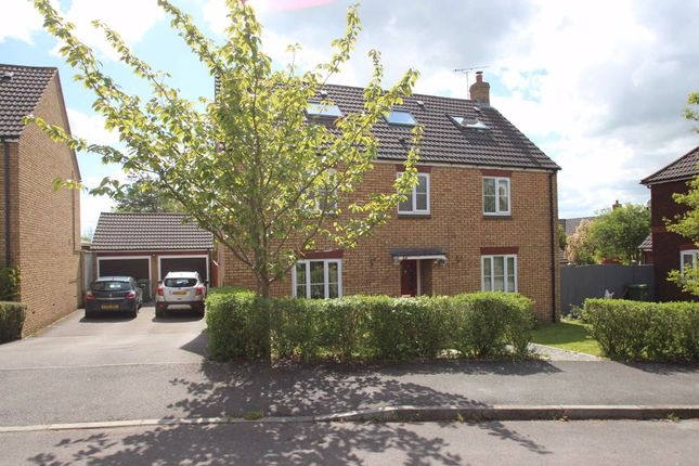 Thumbnail Detached house for sale in Cresswell Drive, Paxcroft Mead, Hilperton, Wiltshire